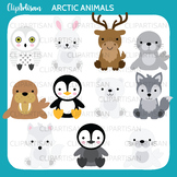 Arctic Animals Clip Art, Polar Animals
