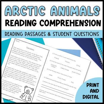 Arctic Animals Close Reading