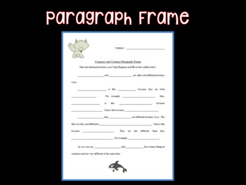 Compare and Contrast Task Cards and Venn Diagram Arctic Animals