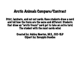 Arctic Animals Compare/Contrast