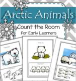 Arctic Animals Count the Room for Preschool and Kindergarten