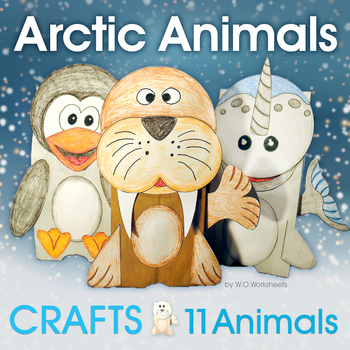 Arctic Animals Crafts