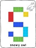 Arctic Animals - ESL - Lego activity mats