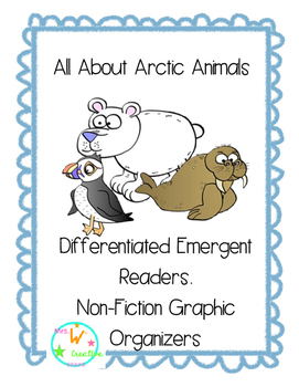 Differentiated Arctic Animals Emergent Reader