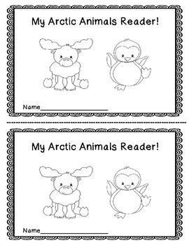Arctic Animals Emergent Reader Packet