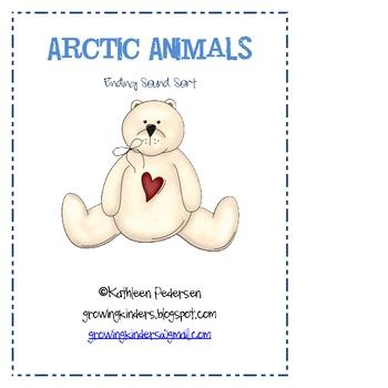 Arctic Animals - Ending Sound Sort