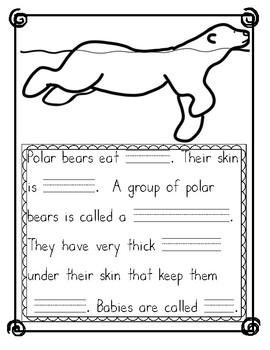 Arctic Animals Fact Journal