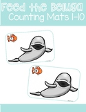 Arctic Animals - Feed the Beluga Whales - Counting Mats 1-10