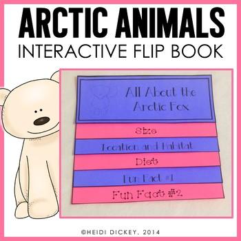 Arctic Animals Flip Book