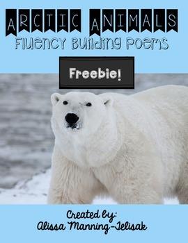 Arctic Animals Fluency Building Poems Freebie