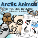 Arctic Animals Foldable Informational Booklets Science Distance Learning