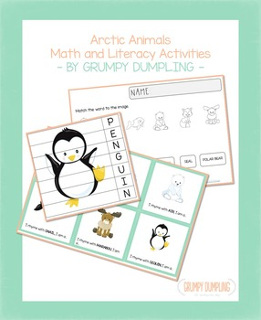 Arctic Animals Games and Activities (Suitable also for Mon