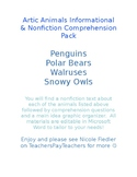 Arctic Animals Informational & Nonfiction Comprehension Pack