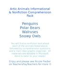 Arctic Animals Informational & Nonfiction Comprehension Pack