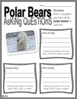 Arctic Animals Informational Text - Free