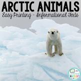 Arctic Animals Informational Texts: Main Idea, Comprehensi