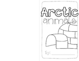 Arctic Animals Informative Writing Freebie