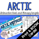 Arctic Animals Interactive Book and Therapy Targets! DIGIT