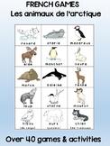 Arctic Animals / Les animaux de l'arctique FRENCH Games