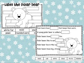 Polar Animals Literacy/Science Unit w Penguins, Seals, Walrus', Polar Bears