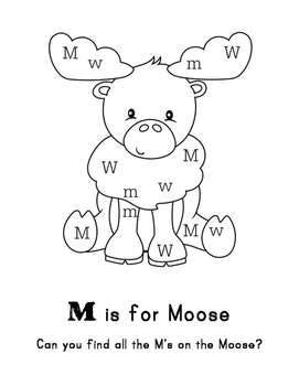 Arctic Animals: M is for Moose