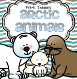 Arctic Animals Math and Literacy Activities and Centers fo
