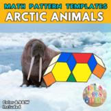 Arctic Animals |  Printable Math Pattern Block Templates