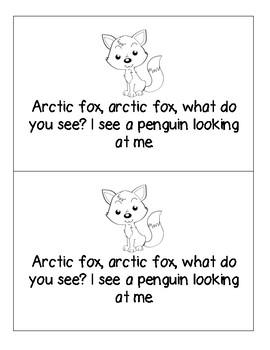Arctic Animals Mini Reader