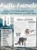 Main Idea Reading Passages: Arctic Animals