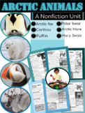Arctic Animals Nonfiction First Grade Reading Comprehension | Text Features