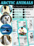 Arctic Animals Nonfiction Reading Comprehension Passages Text Features | Winter