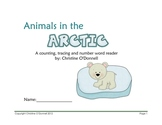 Arctic Animals Number Book 1-10 #'s, words, worksheets,center ideas