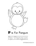 Arctic Animals: P is for Penguin