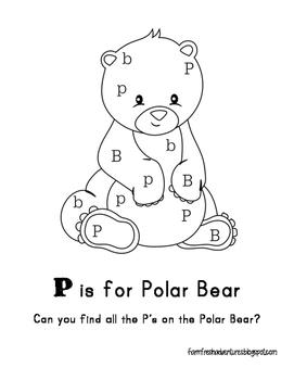Arctic Animals: P is for Polar Bear