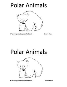 Arctic Animals Polar Animals Skills Pack inc. 4 Printable