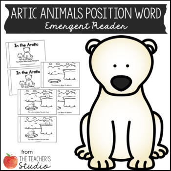 Arctic Animals Position Word Reader
