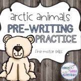 Arctic Animals Pre-Writing Fine Motor Practice