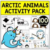 Arctic Animals Preschool Worksheet