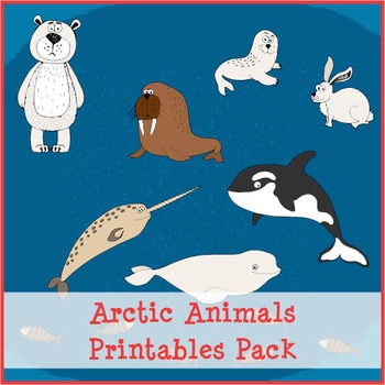 Arctic Animals Printables Pack