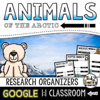 Arctic Animal Report: Research Project Organizers GOOGLE CLASSROOM