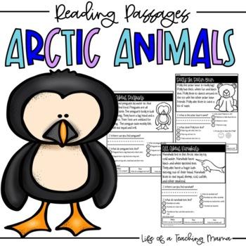 Arctic Animals Reading Passages
