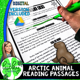 Arctic Animals Research   24 Informative Texts   Distance Learning