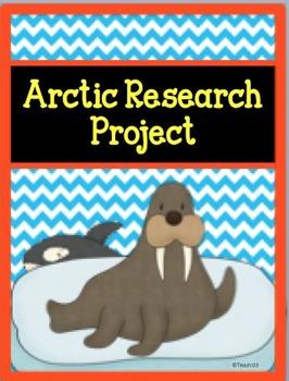 Arctic Research Graphic Organizer