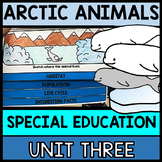 Arctic Animals Research - Interactive Notebook - Special Education - Winter