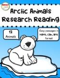 Arctic Animals Research Reading
