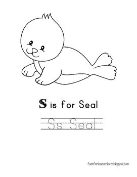 Arctic Animals: S is for Seal