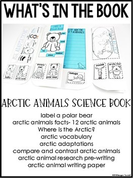 Arctic Animals Science Interactive Activities