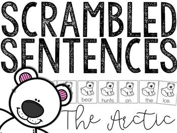 Arctic Animals: Scrambled Sentences