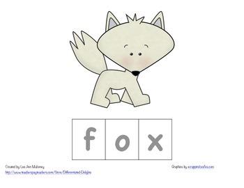 Arctic Animals Spelling