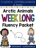 Arctic Animals Week Long Fluency Packet